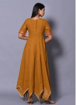 Block Print Cotton Readymade Gown