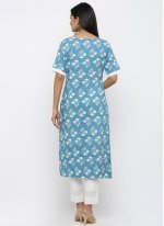 Blue Ceremonial Salwar Kameez