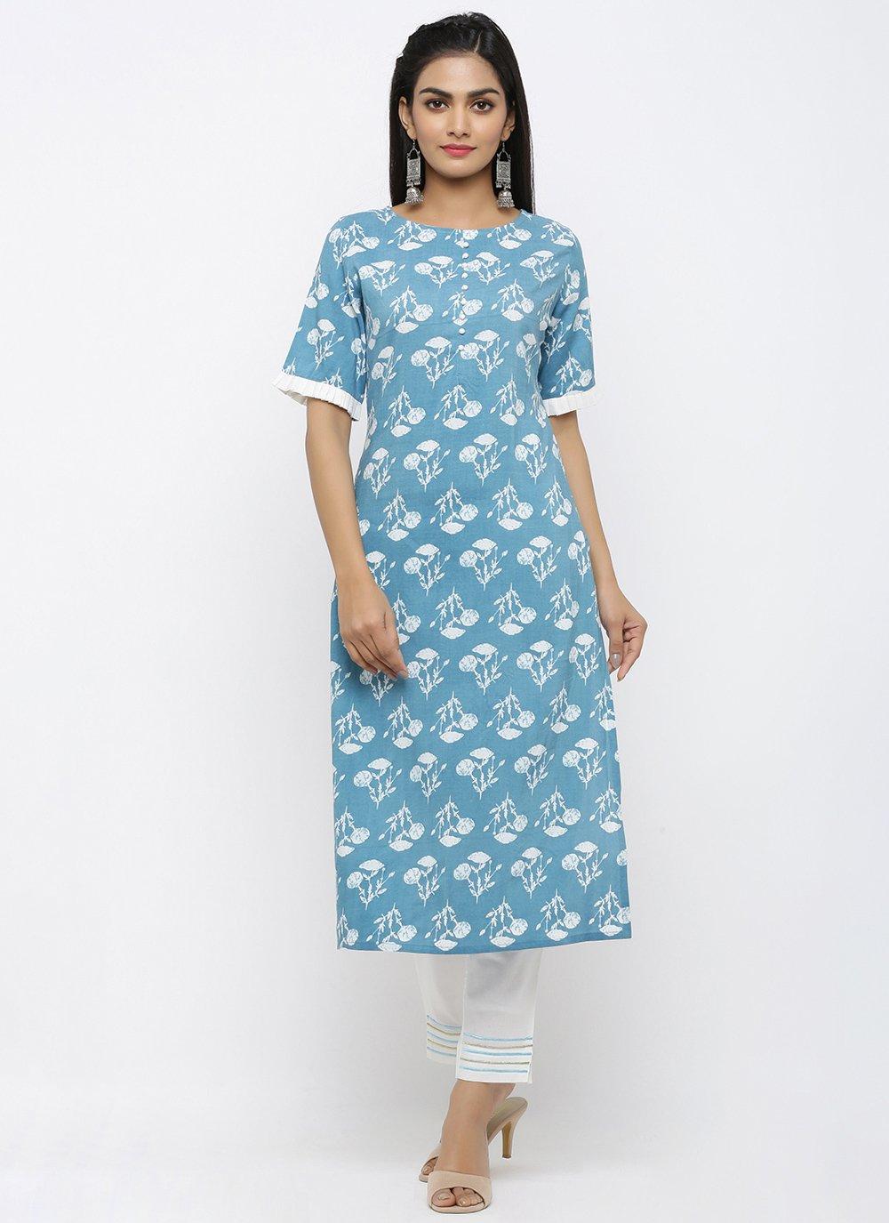 Blue Ceremonial Salwar Kameez