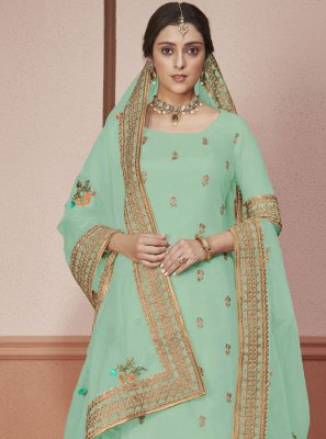 Blue Color Salwar Suit