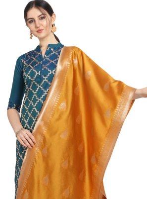 Blue Embroidered Designer Salwar Kameez