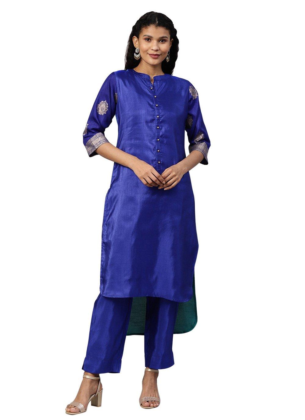 Blue Festival Designer Salwar Kameez
