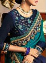 Blue Party Classic Saree
