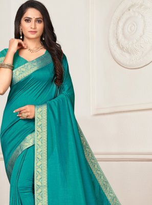Blue Party Trendy Saree
