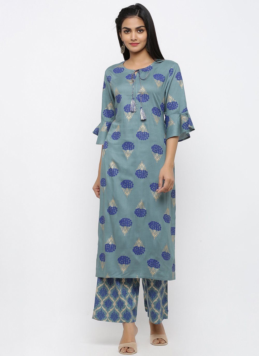 Blue Print Reception Salwar Kameez