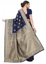 Blue Weaving Festival Classic Saree