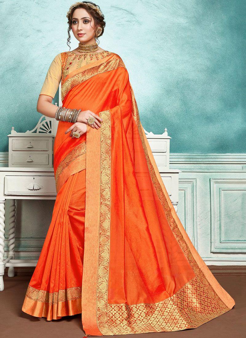 Border Jute Silk Designer Saree