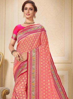 Brocade Wedding Traditional Saree