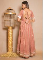 Brown Cotton Gown