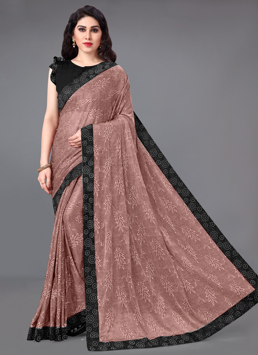 Brown Party Classic Saree
