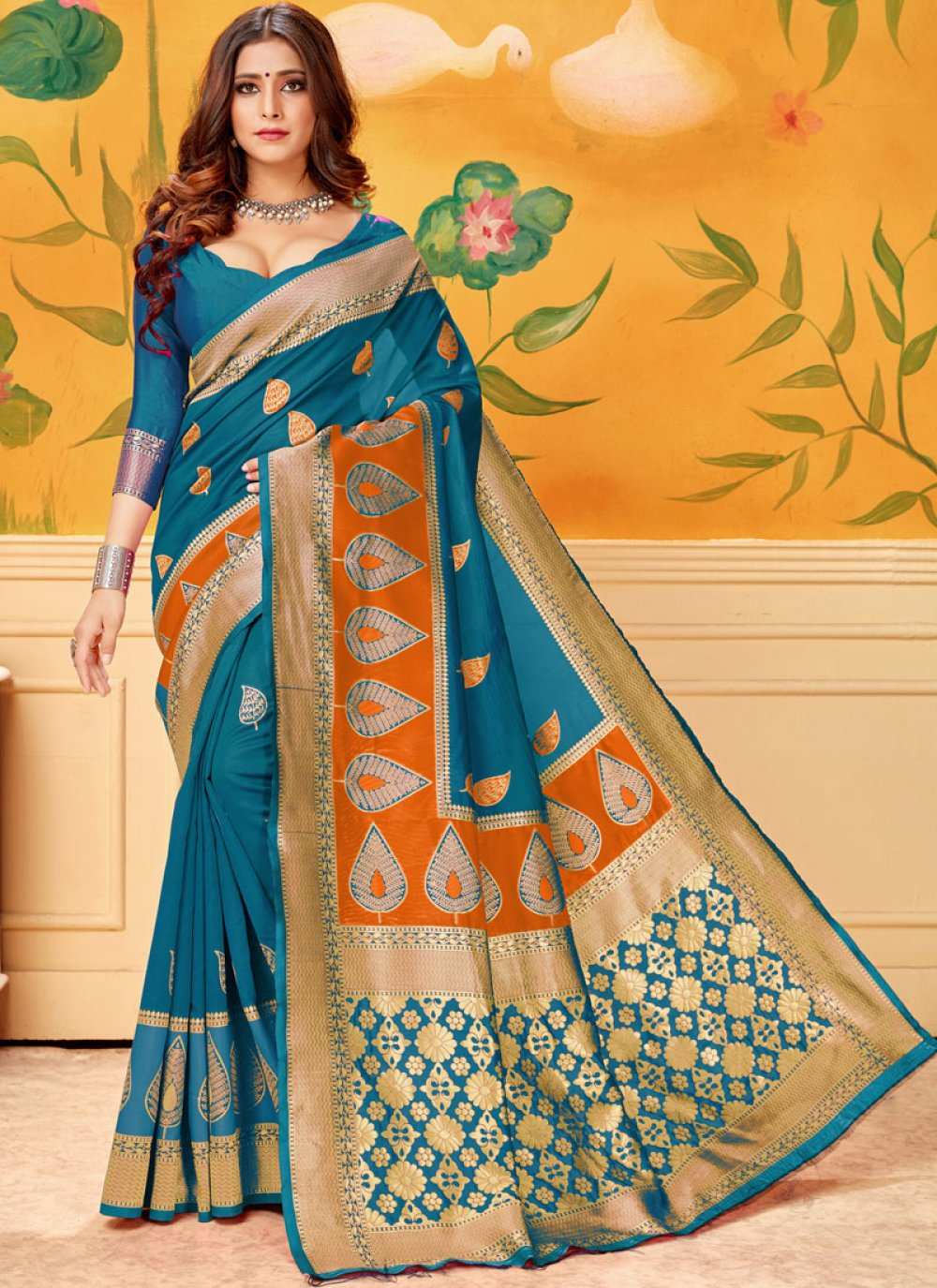 Casual Saree For Festival