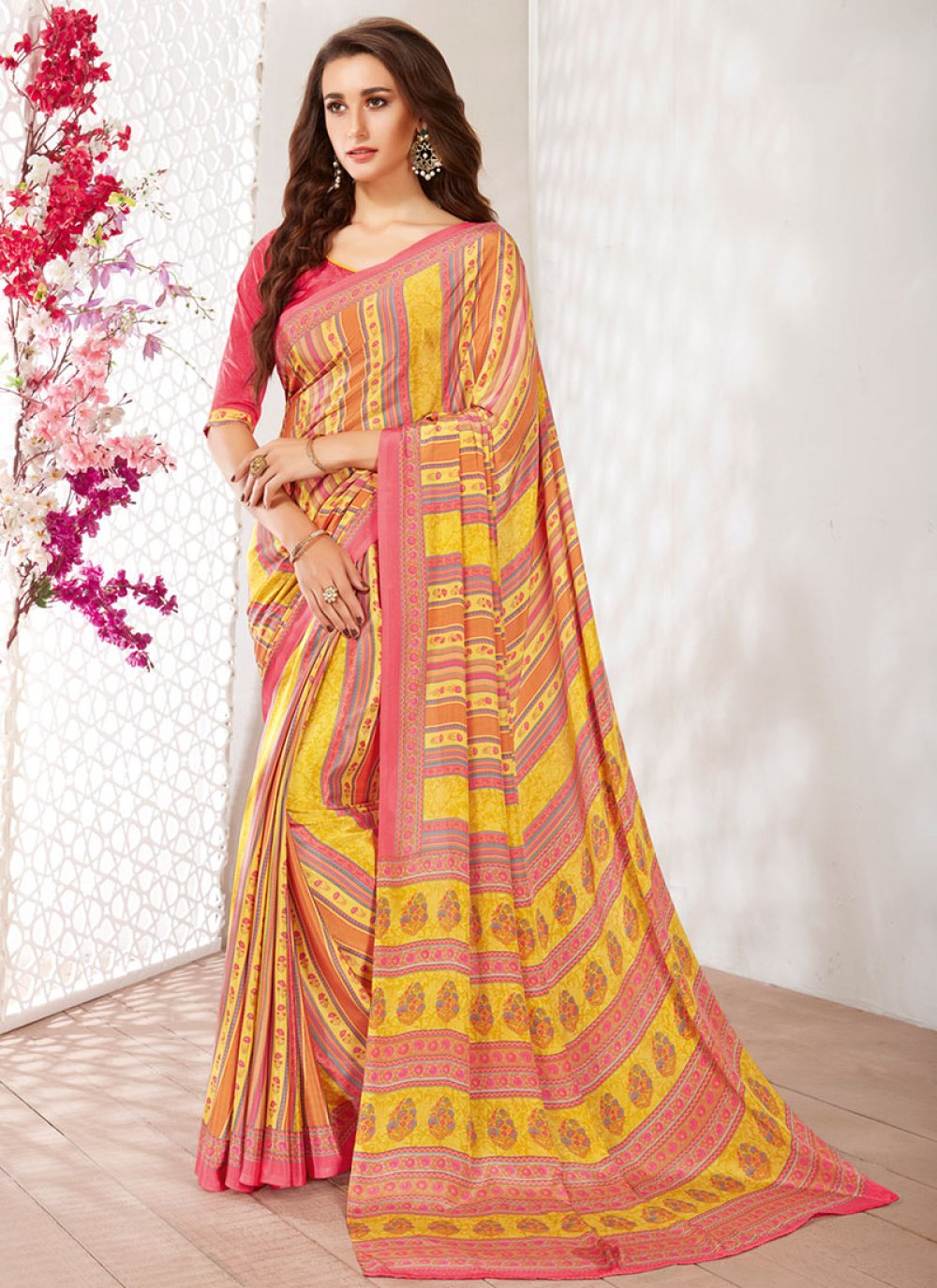 Casual Saree For Party
