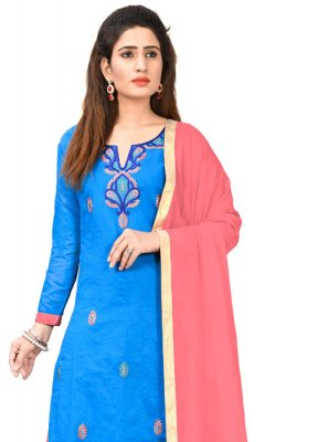 Chanderi Cotton Salwar Kameez