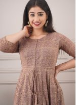 Chanderi Trendy Gown
