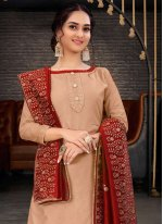 Chanderi Trendy Salwar Suit