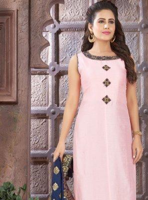 Chinon Mehndi Designer Salwar Kameez