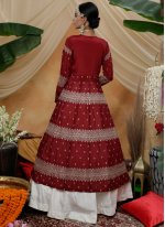 Chinon Reception Trendy Lehenga Choli