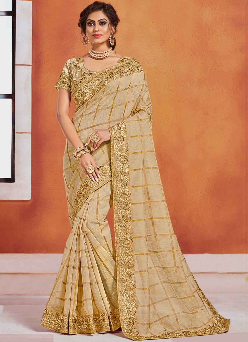 Classic Designer Saree For Party