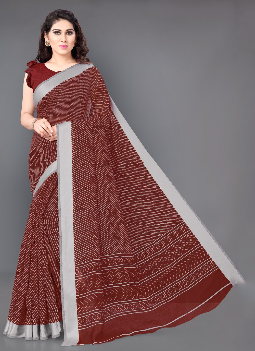 Classic Saree For Casual
