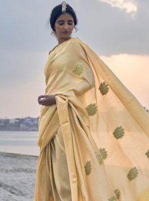 Contemporary Saree For Festival