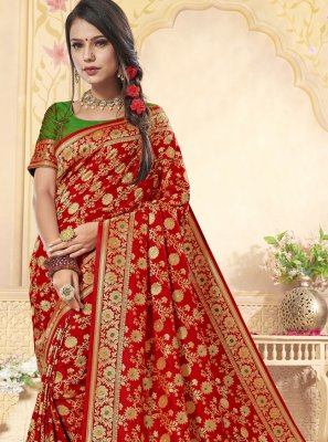 Contemporary Saree For Wedding