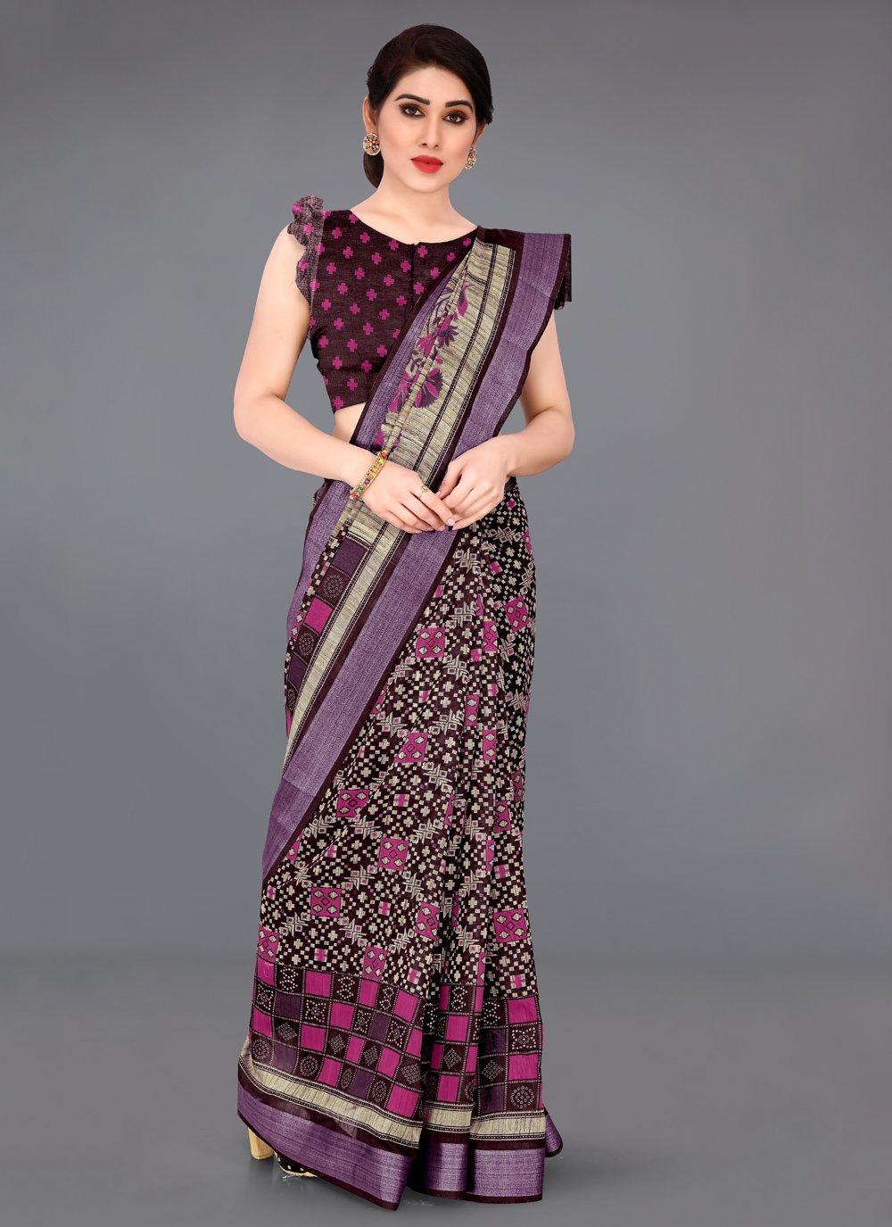 Cotton Casual Classic Saree