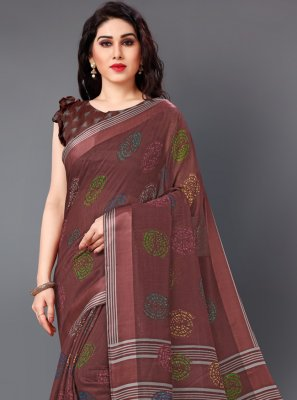 Cotton Casual Saree