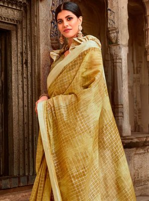 Cotton Casual Trendy Saree