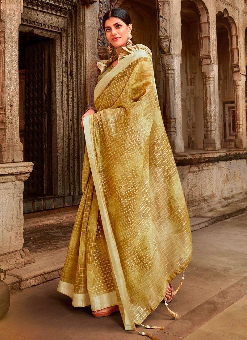 Cotton Casual Trendy Saree