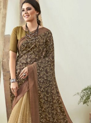 Cotton Digital Print Saree
