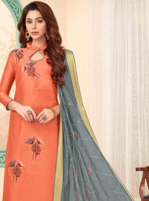 Cotton Embroidered Designer Salwar Kameez