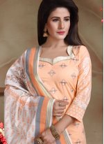 Cotton Embroidered Trendy Churidar Salwar Kameez