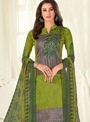 Cotton Festival Designer Palazzo Salwar Suit