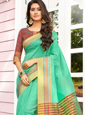 Cotton Festival Designer Saree