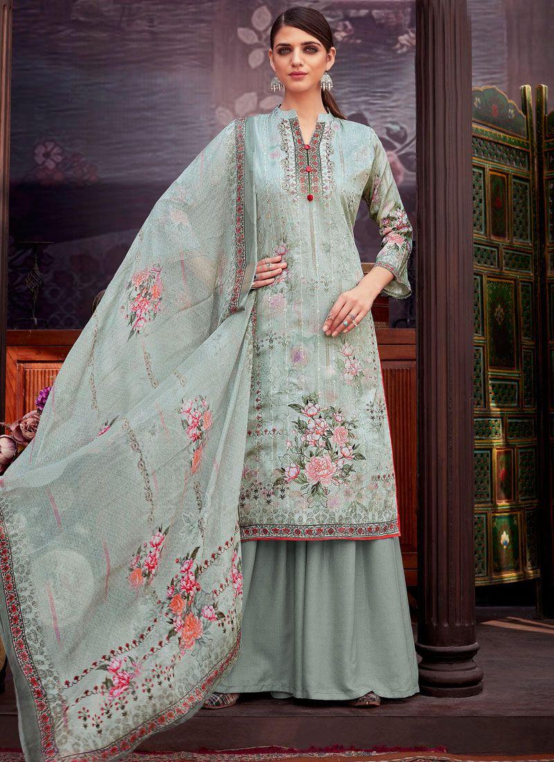 Cotton Festival Palazzo Suit