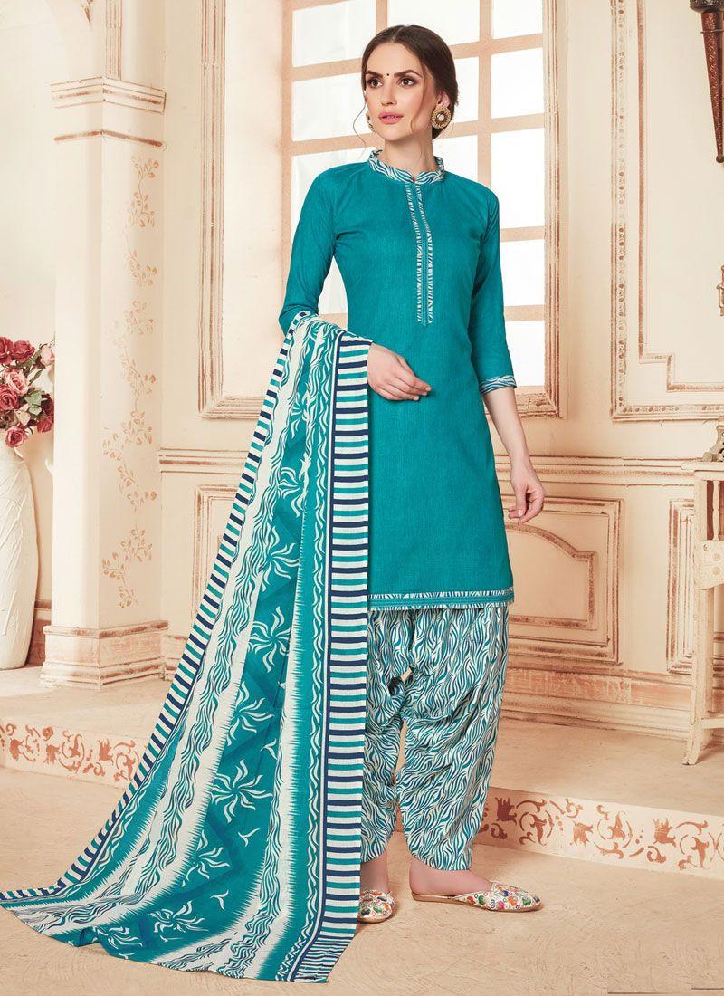 Cotton Festival Punjabi Suit