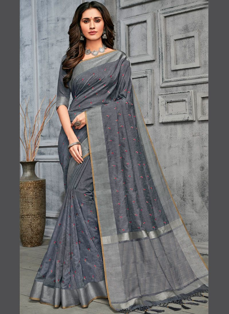 Cotton Festival Traditional Designer Saree