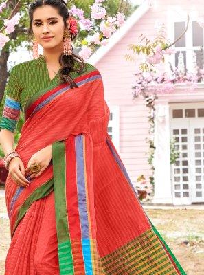 Cotton Festival Trendy Saree
