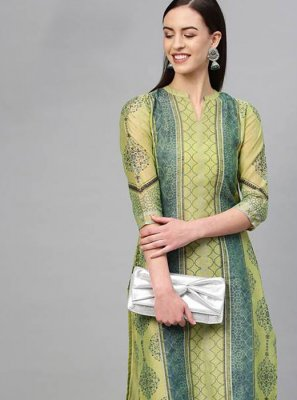 Cotton Green Salwar Kameez