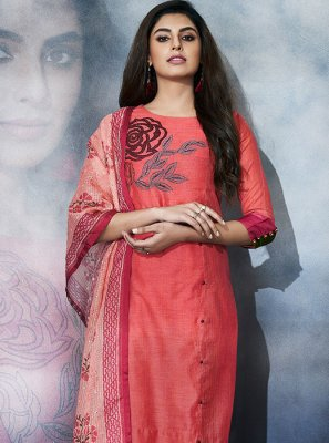 Cotton Party Churidar Salwar Kameez