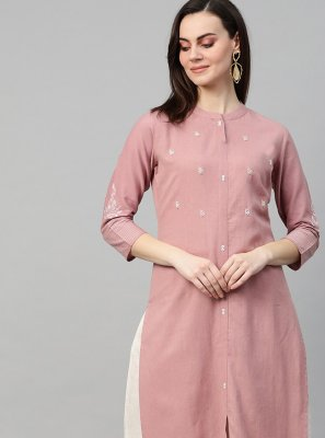 Cotton Party Designer Kurti