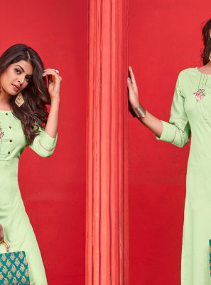 Cotton Party Party Wear Kurti