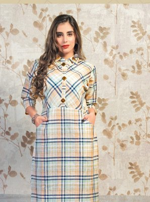 Cotton Party Wear Kurti
