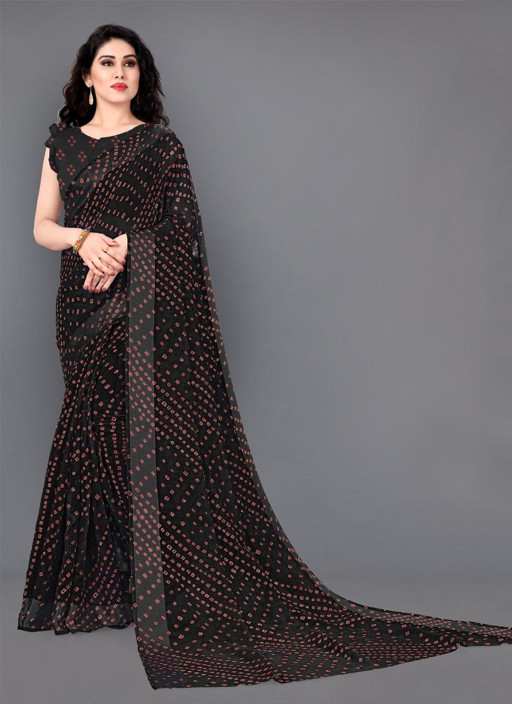 Cotton Print Designer Saree