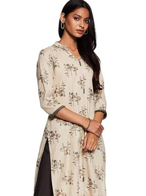 Cotton Printed Casual Kurti