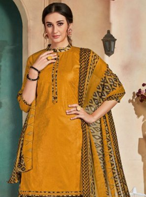 Cotton Printed Patiala Salwar Suit