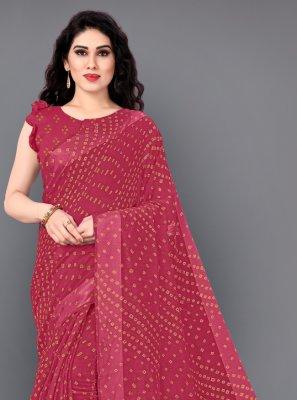 Cotton Rani Classic Saree
