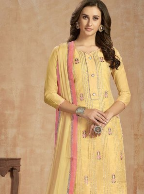 Cotton Reception Salwar Kameez
