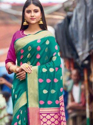 Cotton Resham Traditional Saree