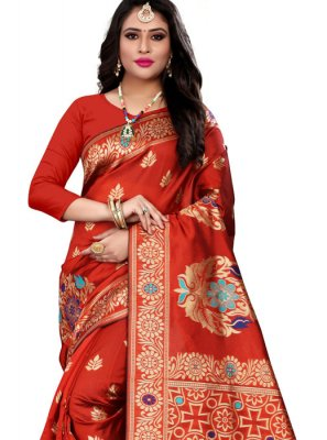 Cotton Silk Casual Casual Saree